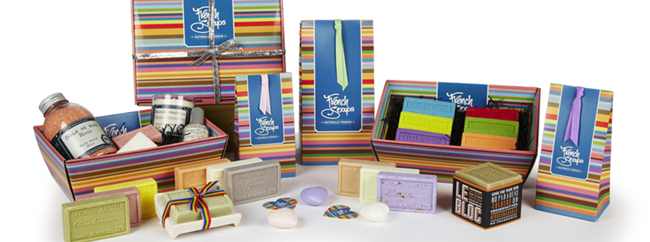 French Soaps Gift Packaging & Branding